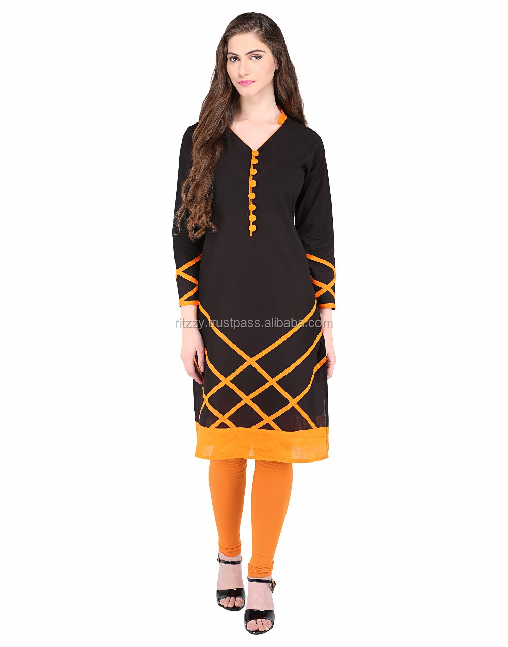 Simple Cotton Kurti Designs