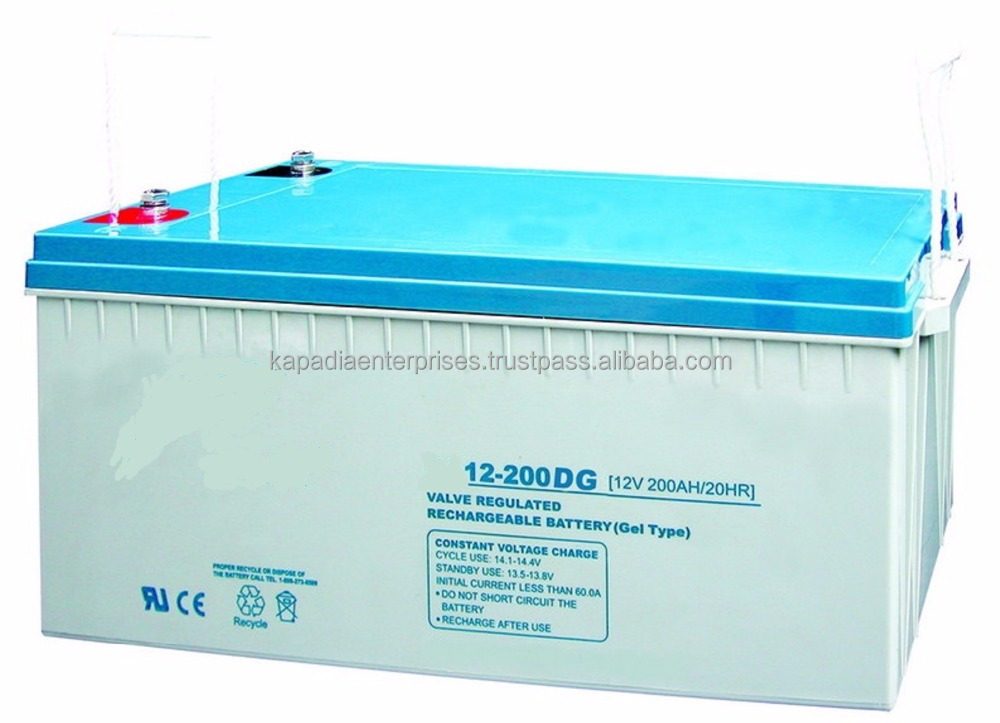 12V 200Ah Gel Deep Cycle Battery