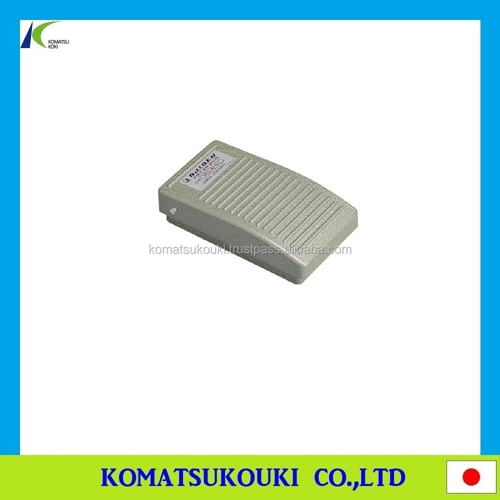 Best-selling and durable foot air valve(foot pedal switch), Made in Japan