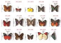 Wholesale/Pieces - Hand Made Butterfly Keychain (Real Butterfly Wings)