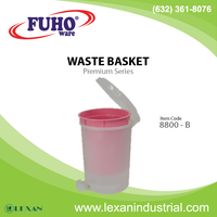 8800-B - Plastic Waste Bin with Pedal (Philippines)