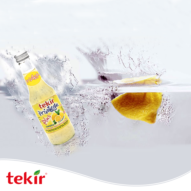 Sparkling Lemon Flavoured Mineral Water