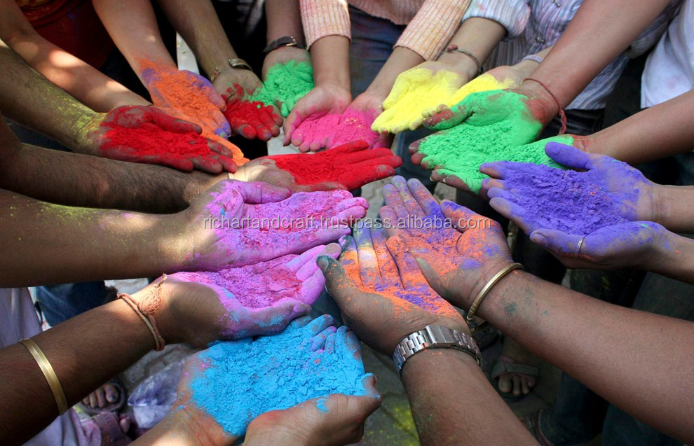 Gulal Color Party Decoration Event & Party Supplies Type holi Colour powder