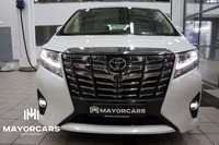 TOYOTA ALPHARD 2015 NEW LHD 3.5 LUXE WHITE/BEIGE READY TO EXPORT FROM RUSSIA
