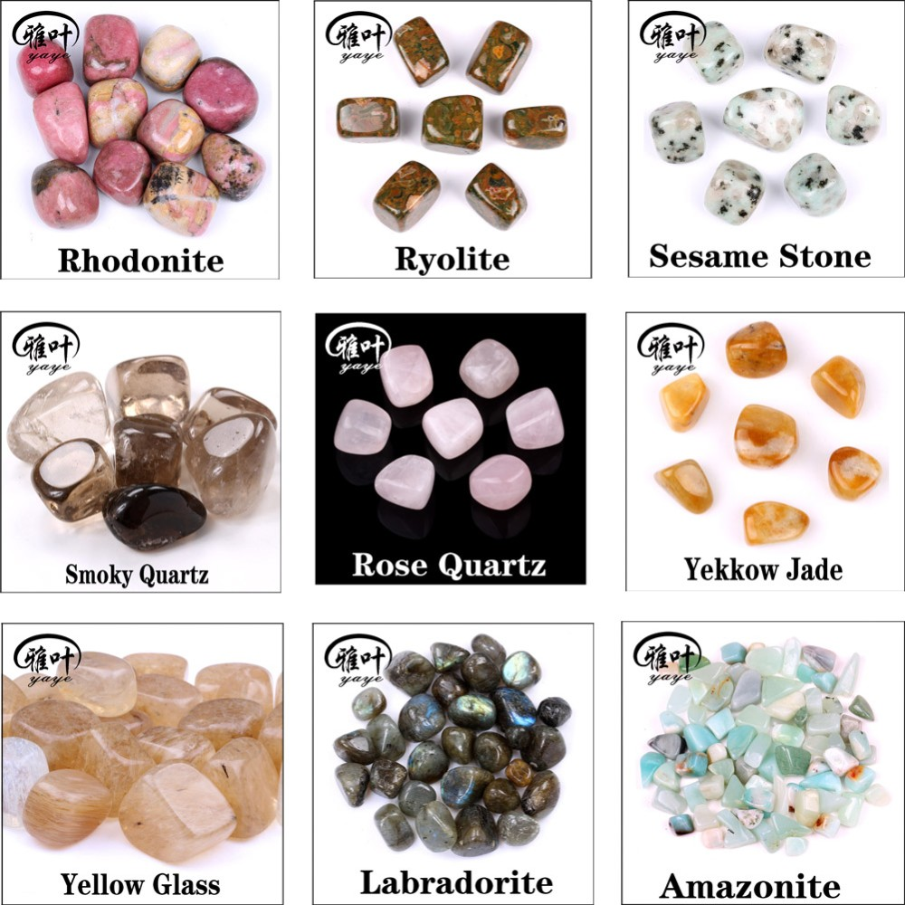 Bulk Decorative Rose Quartz Tumbled Stones