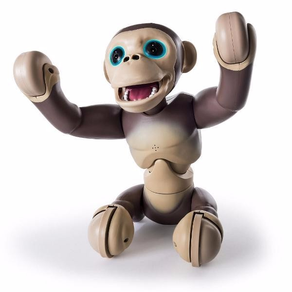 BUY SPIN MASTER ZOOMER CHIMP ELECTRONIC INTERACTIVE MONKEY PET KIDS TOY (NEW SEALED)