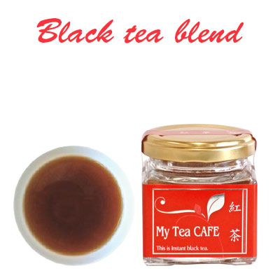 Japanese instant black tea powder 30g My tea cafe