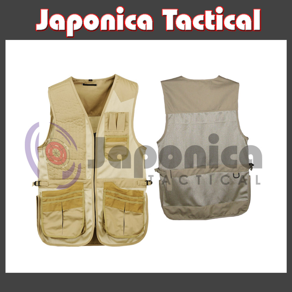Hunting Shooting & Hiking Vest Multi Pockets Outdoor Sports Colorful Vest Top Selling Vest