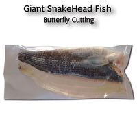 Giant SnakeHead Fish Butterfly Cutting