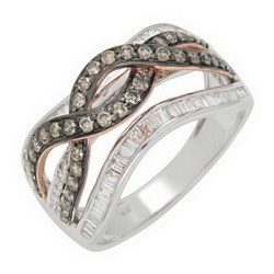 Made in Thailand fashion design wiht diamond custom made rings in jewelry at low price