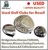 Various types of and low-cost japanese golf drivers and Used Wedge FOURTEEN V4 for resell , deffer model also available