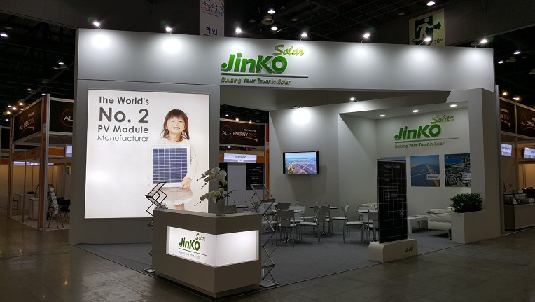 Exhibition Booth Stand in Goyang, South Korea