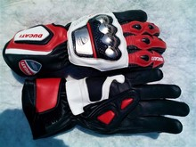 Ducati Motorbike Motorcycle Racing Leather Gloves Motogp Replica Ducati Racing Bikers Gloves
