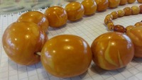 Vintage necklaces from natural Baltic amber.
