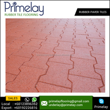 Best Stylishly Engaging Safety Rubber Flooring Paver at Competitive Price