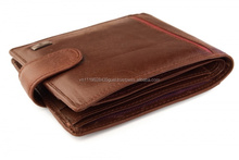H_Leading Supply Casual Genuine Snake Leather Men's Wallets