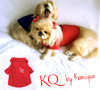 KQ Dog Shirt - Kings & Queens by Kemique - Dog Clothes - Pet Clothes by Kemique
