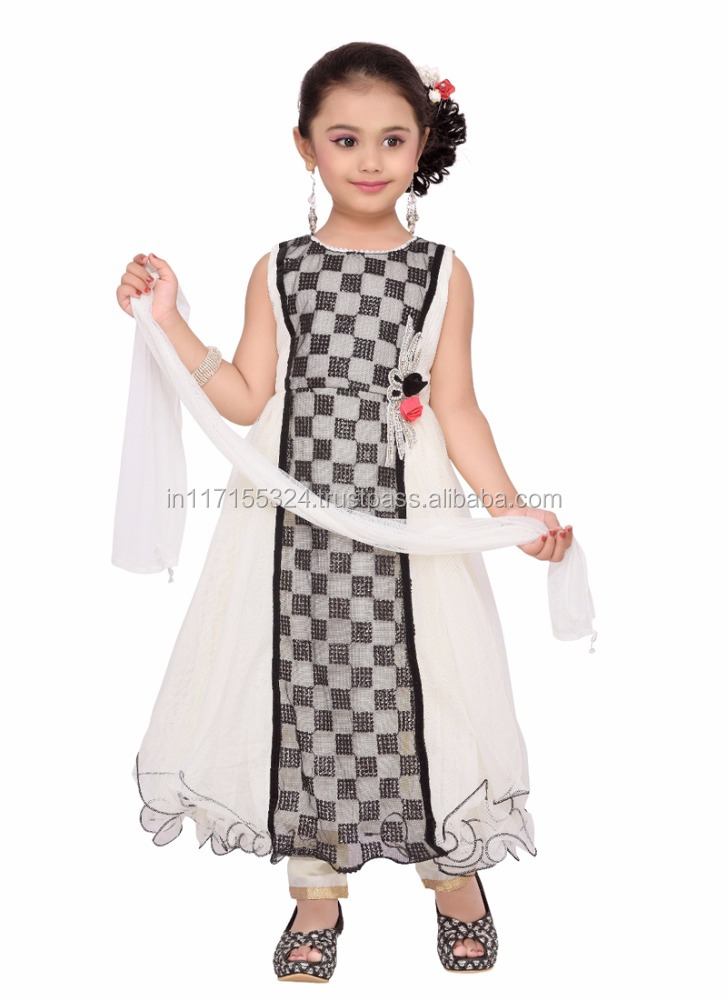 2016 new fashion kids party wear dress - Baby clothes factory - Kids party wear dress - Girls dresses - Fashion girls clothing