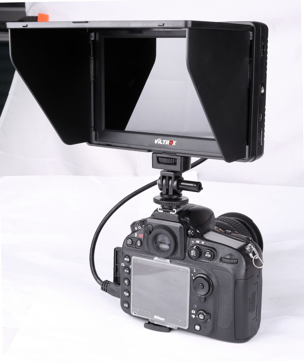 "Viltrox Portable LCD Monitor DC-70 II 7"" Inches Full HD Field Monitor for DSLR Camcorder"