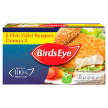 Birds Eye Omega 3 Fish Fillet Burgers