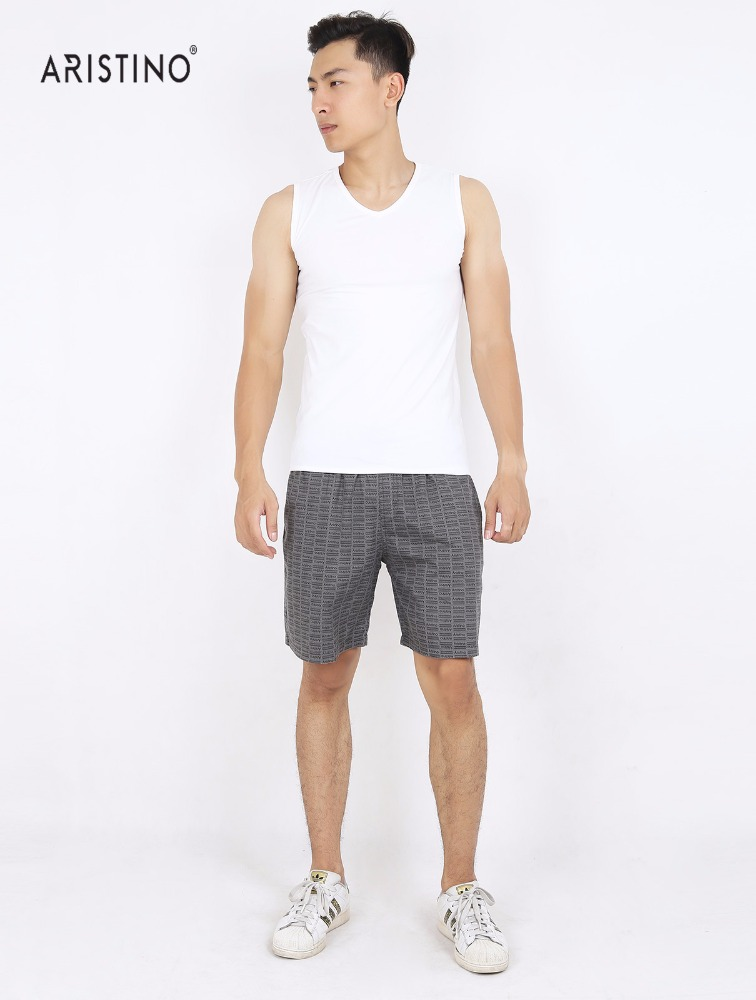 High quality 100% cotton tank top for men