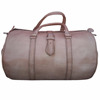 Handmade moroccan leather Travel bags natural leather duffel bag