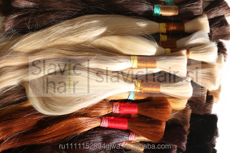 Russian virgin bulk hair