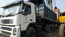 used Volvo FM 12 dump truck used second hand dumpers