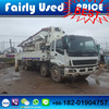 Sany 42m concrete pump with Isuzu chassis for sale used Sany 42m concrete pump truck