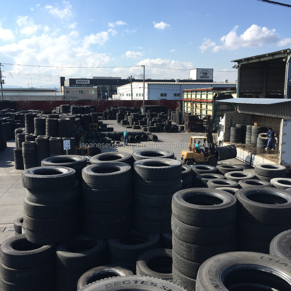 Japanese Quality Major Brands used tires export germany wholesalers with High Inspection Standard