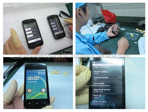 Mobile Phone & Mobile Phone's Accessories Quality Control and Testing / Quality Inspector in Shenzhen