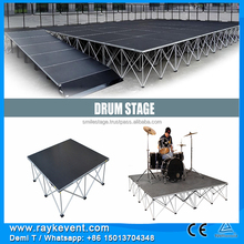Wooden event stage outdoor sound system sound system for disco