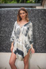 Women's Beachwear FREE SIZE / PLUS SIZE Short Kaftan Poncho Beach Cover Ups