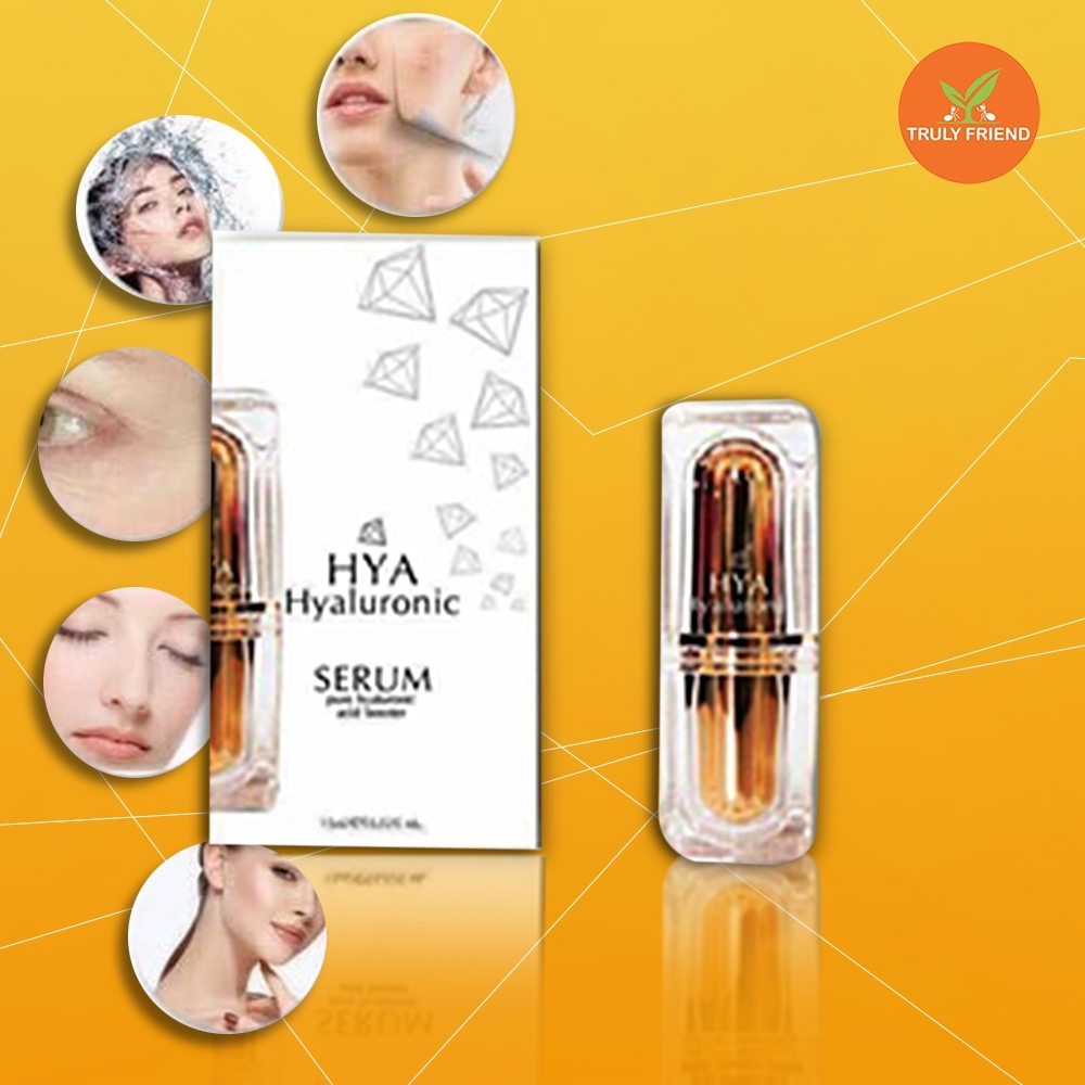 Hyaluronic or HYA Serum booster help to radiant skin restore firmness antiwrinkle
