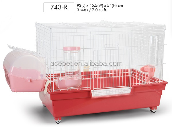 Small Pet Cage with Multi Function Carrier