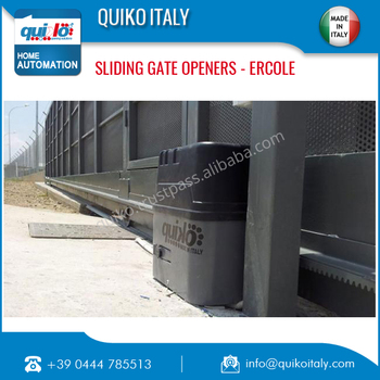 Made in Italy Sliding Gate Opener for Export Supply