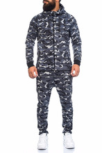 Latest New Design Customized camouflage Tracksuit/ Gym Sweatsuit / Custom made Sweat suits Jogging Suit Track suit