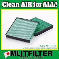 Antibacteria & deodorization car air filter for Nissan for cabin