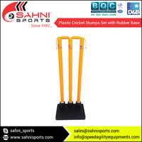 Plastic cricket stump with Base