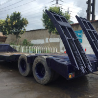 Used Low Bed Trailer Second Hand