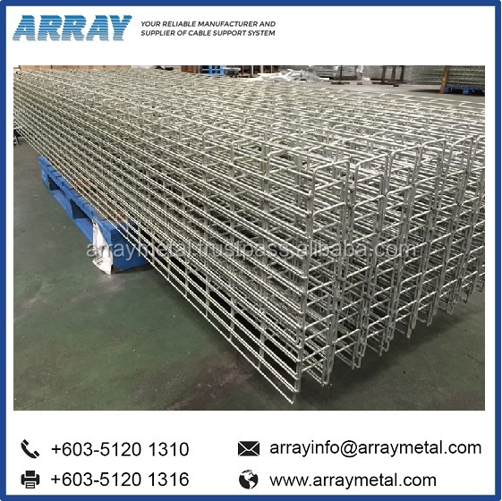 Wire Mesh Tray/ Wire Busket HDG Cable Tray Price List