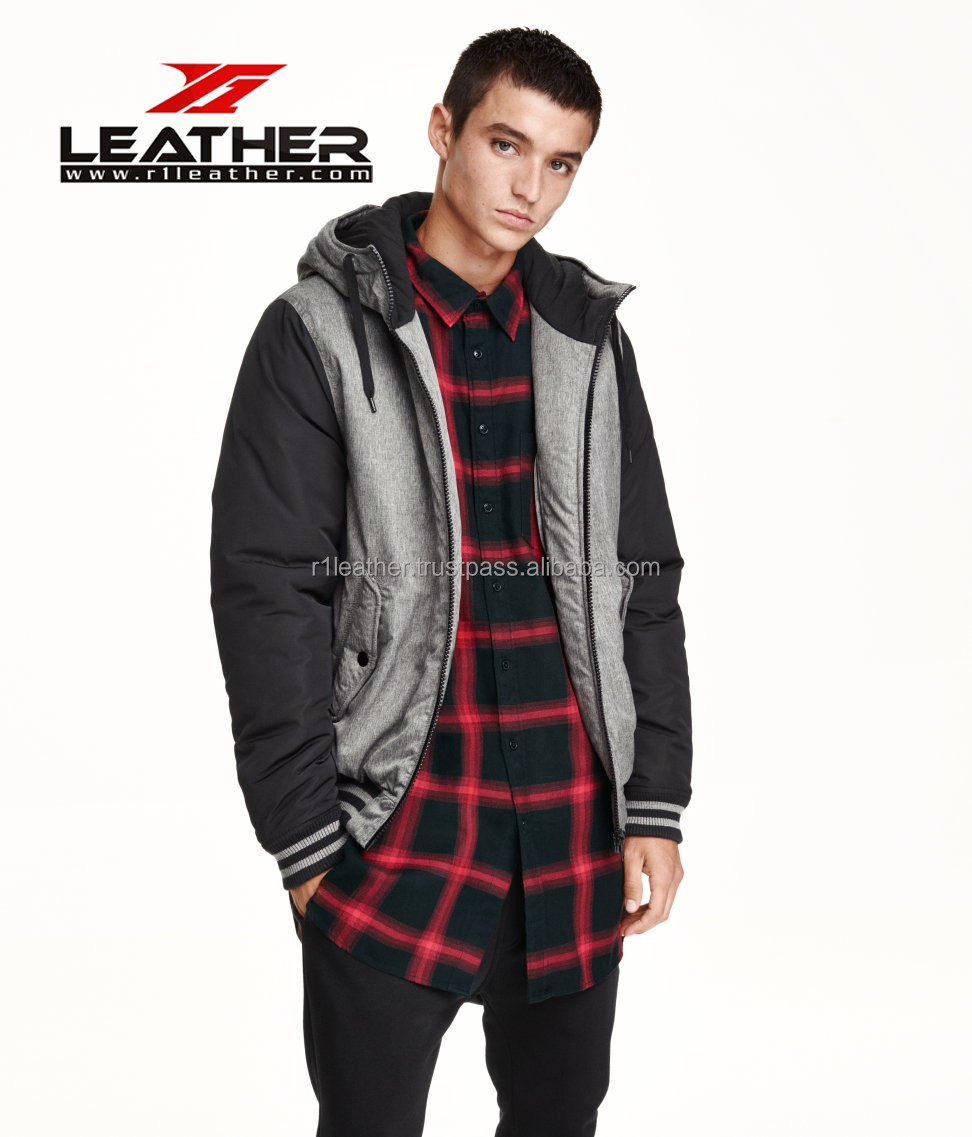 casual adult anti-static winter jackets for young men 2015