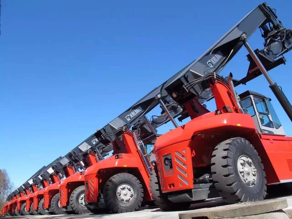 good used kalmar 45t container reach stacker new arrived hot sale in china