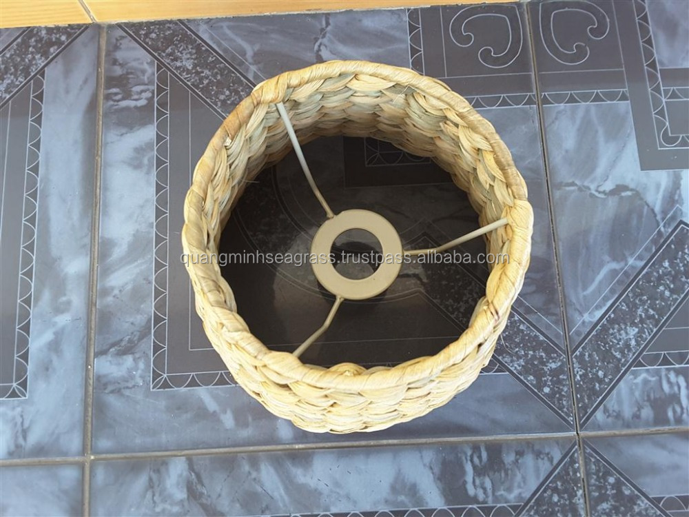 Top new product water hyacinth lamp shade high quality wicker decorative lamp shade made in Vietnam