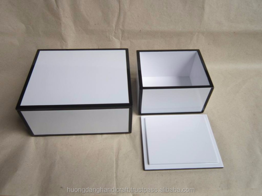 white lacquer boxes made in vietnam