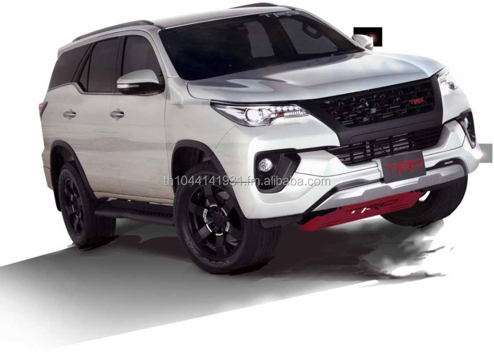 Fortuner 2015 Thai Model TRD Kit Set Original TRD