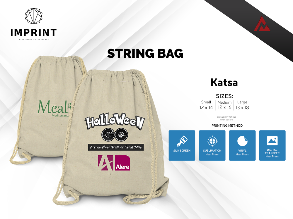 Costumized String Bag