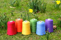 H_cotton nylon polyester air covered yarn with spandex