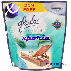 GLADE ONE FOR ALL OCEAN ESCAPE 70gr | Indonesia Origin | Cheap popular air freshener for home use