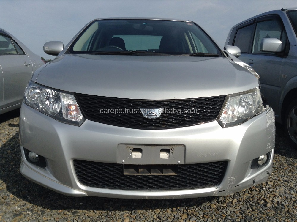 USED ACCIDENT DAMAGED CARS FOR TOYOTA ALLION ZRT260 2008 EXPORT FROM JAPAN